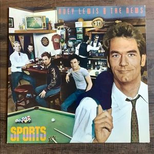 Huey Lewis and the News vinyl record